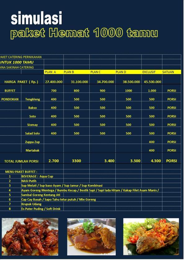 kATERINGSEMARANG MURAH ENAK , h. suPARANDAN, Catering Semarang Bina Sakinah,0888 641 4747